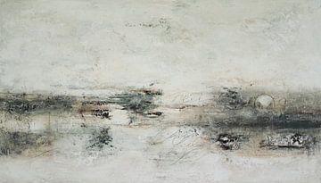 Abstrakte Komposition 10.131 von Petra Lorch
