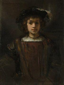 Rembrandts Sohn Titus (1641-1668), Stil von Rembrandt von