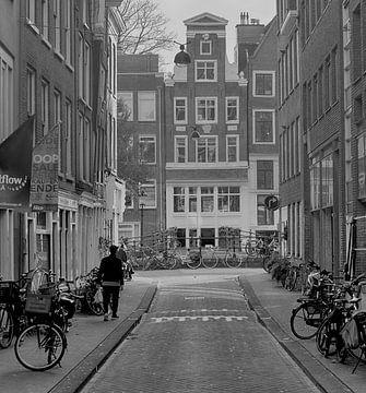 1e Looiersdwarsstraat Amsterdam van Peter Bartelings Photography