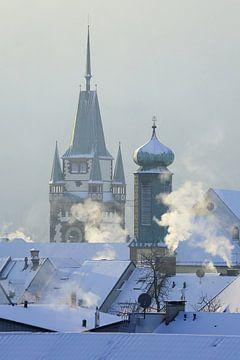 Winter Freiburg van Patrick Lohmüller