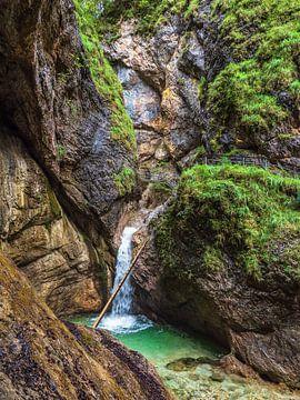 Die Almbachklamm im Berchtesgadener Land von Rico Ködder