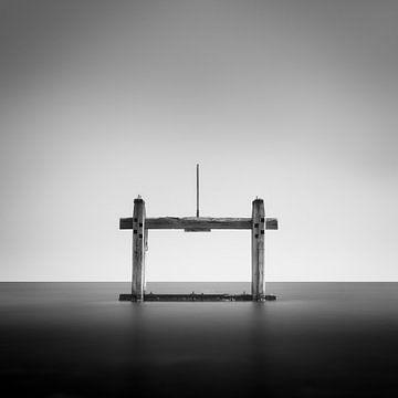 Holzpfosten im Minimalismus von Jos Pannekoek
