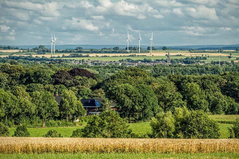Panorama dorpje Bocholtz van John Kreukniet