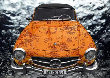 Mercedes-Benz 190 SL Kunstauto van aRi F. Huber