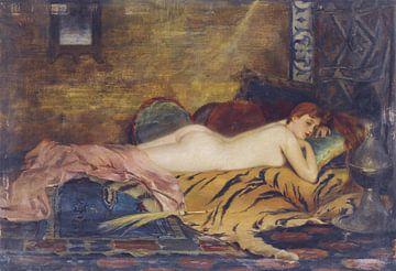 Nackt liegend, Theodoros Ralli von Atelier Liesjes