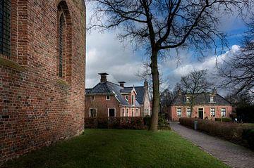 Niederländische Dorfszene von Bo Scheeringa Photography
