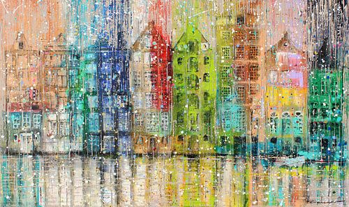 Amsterdam 1 van Atelier Paint-Ing