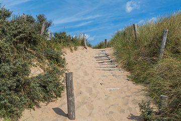 Strandopgang van Peter Leenen