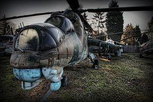 MIL MI-24 HIND hélicoptère de combat  1