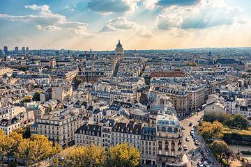Sonne über Paris von Manjik Pictures