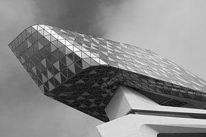 Hafenhaus von Antwerpen von Dirk Vervoort