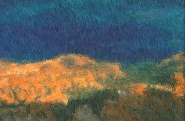 Impressionism landschap van Maurice Dawson