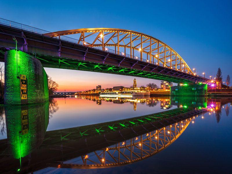Le pont John Frost près d'Arnhem sur Sander Grefte