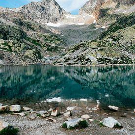 Lac Blanc || Reisfotografie Franse Alpen van Suzanne Spijkers
