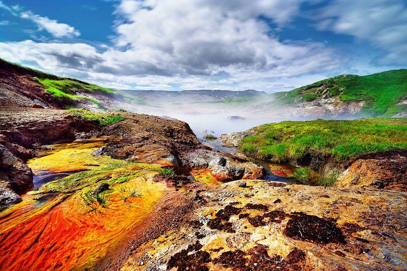 Warme Farben in Island von Ralf Lehmann
