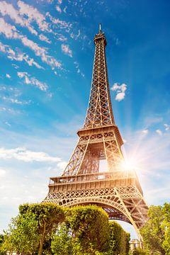 De Eiffeltoren in Parijs van Günter Albers