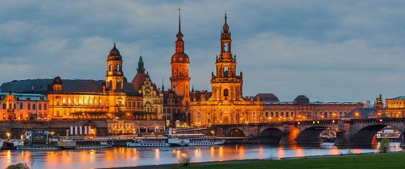 Dresden Cathedral van Henk Meijer Photography