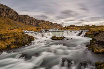 Fosallar zomaar langs de weg in IJsland van Paul Weekers Fotografie