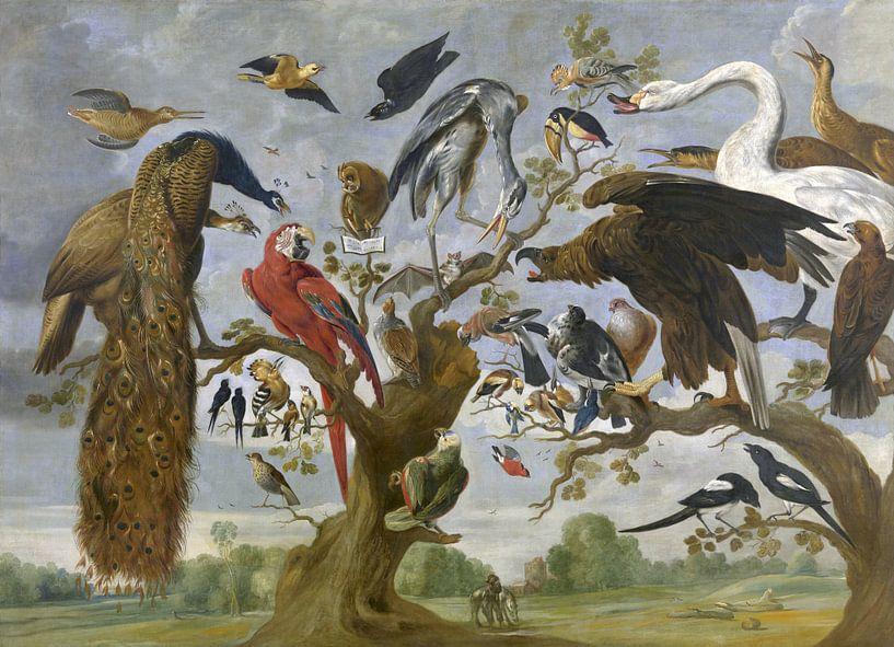 Vogelconcert, Paul de Vos van Meesterlijcke Meesters