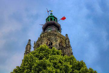Grande église à Breda sur