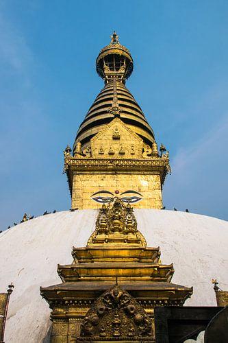 Stoepa van Swayambhunath, Kathmandu, Nepal