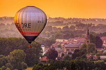 Ballon über Gulperberg von Rob Boon