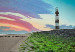 Leuchtturm Breskens von sabrina van lijsdonk