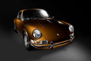 Porsche 911 T uit 1968 van Thomas Boudewijn