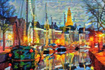 Kurzfassung Hoge der A Groningen von Slimme Kunst.nl