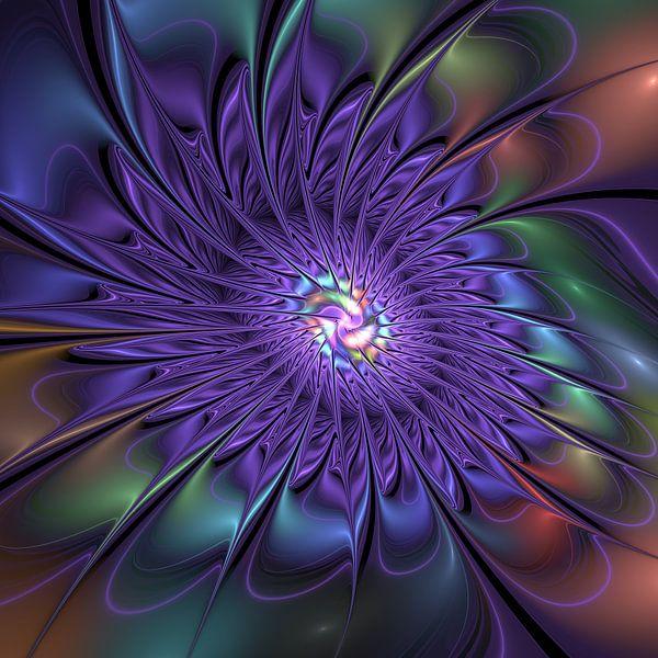 Abstrakte Blume von gabiw Art