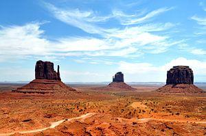 Monument Valley van Bianca Dekkers-van Uden