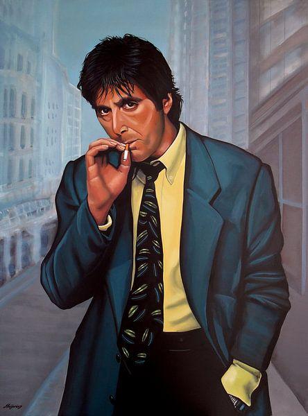 Al Pacino Painting 2 von Paul Meijering