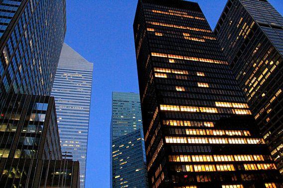 Skyscrapers van Gert-Jan Siesling