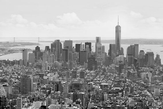 Manhattan, New York van Teuni's Dreams of Reality