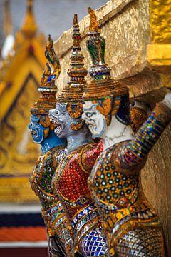 Wachters Grand Palace Bangkok van Jeroen Langeveld, MrLangeveldPhoto