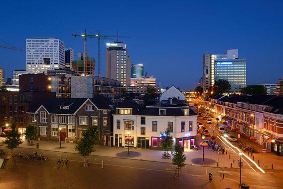 Moskeeplein en Damstraat (Lombok) in Utrecht van Donker Utrecht