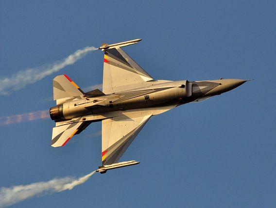 F-16 straaljager van Rogier Vermeulen