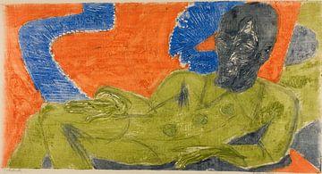 Ernst Ludwig Kirchner.Porträt von Otto Müller