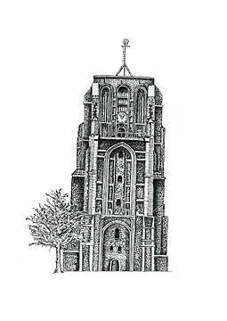 Oldehove Leeuwarden von Willem Heemskerk