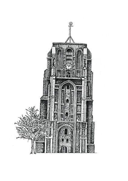 Oldehove Leeuwarden van Willem Heemskerk