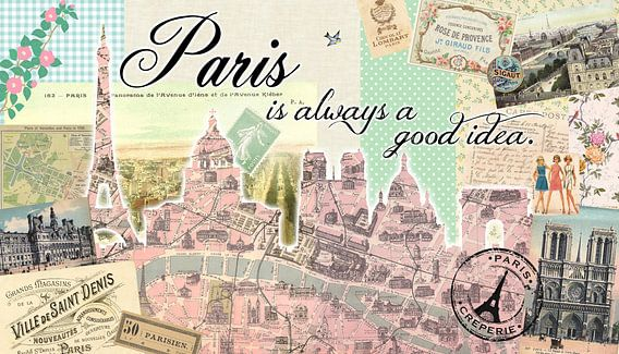 Paris is always a good idea van Green Nest