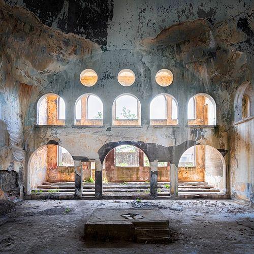 Verlaten Synagoge in Verval.