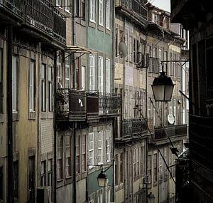 Straatbeeld Porto van