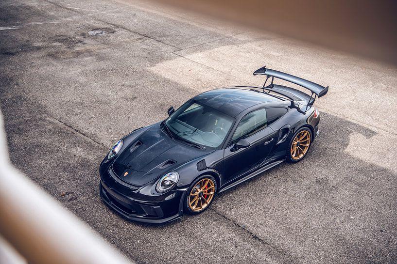 Schöner Porsche GT2 RS auf dem Hungaroring Circuit von Bas Fransen