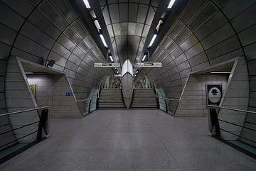 Canary Wharf metrostation van Michael Echteld