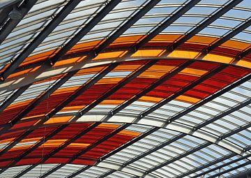 Detail CS Amsterdam overkapping IJ-zijde van JB Art