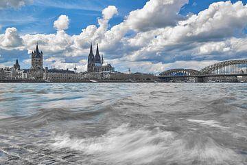 Kölner Dom, Hohenzollernbrücke, St. Martins Kirche von 77pixels
