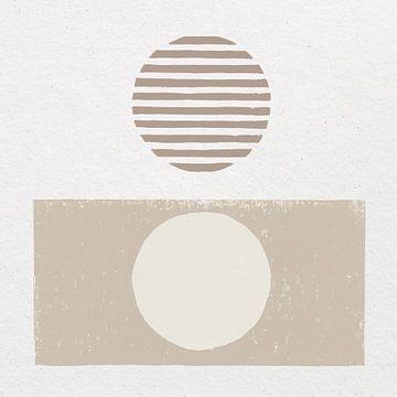 Reflectie II neutraal, Moira Hershey van Wild Apple