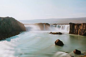 Waterfall of the Gods van Maikel Claassen Fotografie