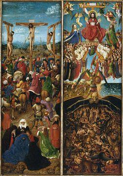 Jan van Eyck - Diptych sur